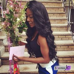 100% Virgin body wave Clip In Human Hair Extensions Wave Brazilian remy hair…