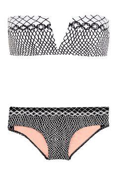 Chic-Printed Stretch Bikini