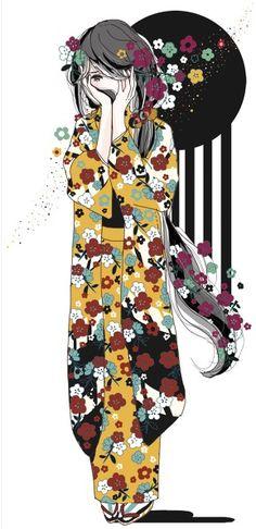 images for anime girl fantasy Anime Kimono, Manga Anime, Manga Girl, Anime Girls, Geisha, Kawaii, Female Characters, Anime Characters, Ecchi