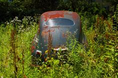 Abandoned Cars & Building | by Fitzsimmons Photography (FitzPhoto)