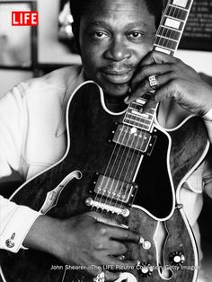 Portrait of musician B.B. King in 1972.