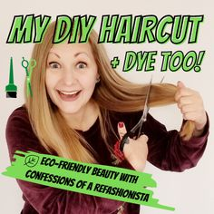 Check out my method for colouring my roots + my DIY hair cut & eco tips too! Eco Hair, Diy Beauty Tutorials, Diy Haircut, Diy Hairstyles, Hair Hacks, Confessions, Colouring, Roots, Hair Cuts