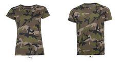 Olvadj bele a környezetedbe! ;)  Ezekben a 100% pamuttartalmú terepmintás női és férfi pólókban!  Most mennyiségi KEDVEZMÉNNYEL!