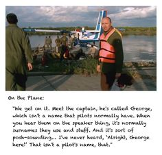 Karl Pilkington - a pilot's name