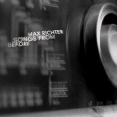 Max Richter. Thank you John Metcalfe for introducing me to his music.