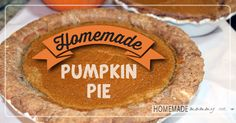 Pumpkin pie is my favorite dessert on Thanksgiving and this year I had the pleasure of making it for my family. I needed to make two pies and I put it off to ...