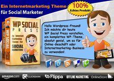 Ein Premium Wordpress Theme für Internetmarketer.