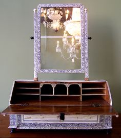 anglo indian dressing table