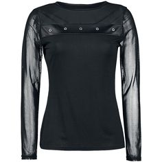 Longsleeved Top, Gothic Rock, Spiral - Sweden Rock Shop, 349 SEK