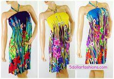 HOT COLORS! SUMMER DRESSES GALORE! www.5dollarfashions.com