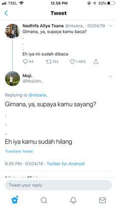 Quotes Lucu, Quotes Galau, Word 2, Reminder Quotes, Galo, Tumblr Quotes, Tumblr Wallpaper, Twitter Quotes, Islamic Quotes