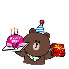 Happy Birthday Status, Happy Birthday Wishes Cards, Happy Birthday Images, Birthday Greetings, Happy Bird Day, Emoji Images, Cute Cartoon Characters, Cute Love Gif, Character Design Animation
