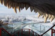 Drumheller, AB: More motivation to visit Alberta - the opportunity to hang out in the mouth of a t-rex. Largest Dinosaur, Tyrannosaurus Rex, T Rex, Dinosaurs, Hanging Out, Worlds Largest, Opportunity, King, Motivation