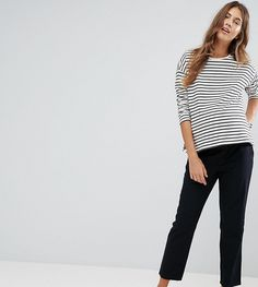 f1d06c0899 Asos Chino PANTS with Under the Bump Waistband Maternity Pants