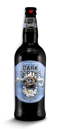 (Dark Depths Baltic IPA #SamAdams #CraftBeer #IPA