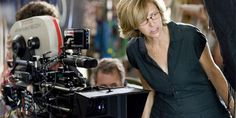 Director/Writer/Producer Nancy Meyers on the set of The Holiday (2006).