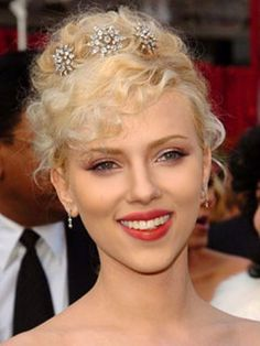 Celebrities wearing Diamond hair jewelry by Bridal Styles Boutique, via Flickr