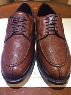 5adb0961c44 ... alden cordovan shoes. new allen edmonds mullen golf shoes size 9d brown  grain leather new made in usa allen