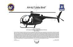 Helicopter Digital Art - Ah-6j Little Bird by Arthur Eggers