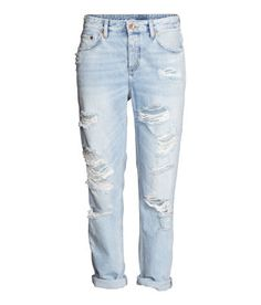 Damen   Jeans   H M AT Zerrissene Jeans Damen, Damen Jeans, Jeans Hosen, 118730bf23