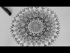 How To Draw Mandala - The OctoCircles Pattern - Sacred Geometry Tutorial - YouTube