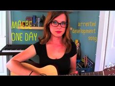 """All you Arrested Development fans - check out Allie Goertz on YouTube. She won the """"You're Gonna Get Some Walks Ons"""" contest by writing her song """"Maeby One Day"""". Look for her in the new season of Arrested Development May 26th."""