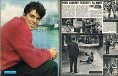 Doc/clipping (Ref NicR 40) 1962 : LAURENT TERZIEFF 2pages | Livres, BD, revues, Revues, Cinéma et télévision | eBay!