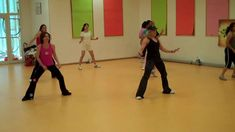 Zumba Choreography to Move Shake Drop