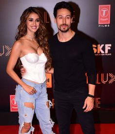Disha Patani, who plays a trapeze artist in Bharat, arrived for the special screening of the film with good friend Tiger Shroff at the multiplex in Lower Parel. Bollywood Couples, Bollywood Girls, Bollywood Stars, Bollywood Celebrities, Bollywood Fashion, Indian Bollywood Actress, Beautiful Bollywood Actress, Most Beautiful Indian Actress, Indian Actresses
