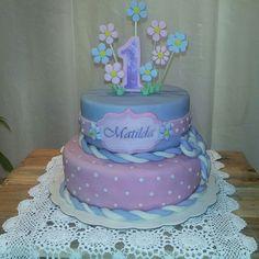 1er año cumpleaños Matilda, Cake, Desserts, Food, The Creation, Tailgate Desserts, Deserts, Kuchen, Essen