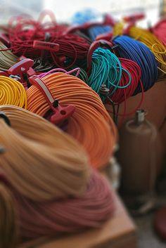 Lampenkabel in allen Farben Cable
