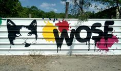 Wose - street art - In situ art festival, Fort d'Aubervilliers (17 mai au 14 juillet 2014)