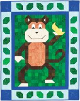 Banana Patch Pal Quilt Kit from QuiltandSewShop.com