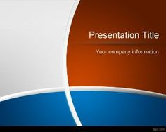 Blue and Brown PowerPoint Template is a free PPT template with multiple colors in the slide design and nice curved lines and effects. You can download this blue and red PowerPoint template for professional presentations including business presentations or marketing slides. The bold appearance of this Curves PPT background provides you an edge when delivering …