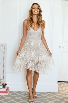 Truly Madly Deeply Dress Bronze