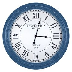 Yosemite Home Decor Simple Perfection 31 in. Wall Clock - CLKDC2198