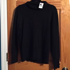 Black Sweater Black Turtle Neck Sweater. New with tags. Sweaters Cowl & Turtlenecks