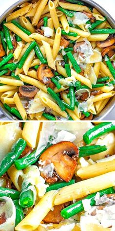 GREEN BEAN PENNE SIDE DISH IN GARLIC BUTTER SAUCE IS A FANTASTIC, EASY AND VERSATILE SIDE DISH.