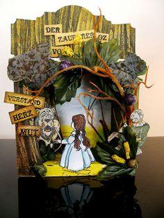 wizard of oz fabric shrine Wizard Of Oz Dolls, Wizard Of Oz Movie, Fantasy Wizard, Fantasy Art, Wizard Of Oz Decor, Wizard Of Oz Collectibles, Land Of Oz, Paper Birds, Paper Animals