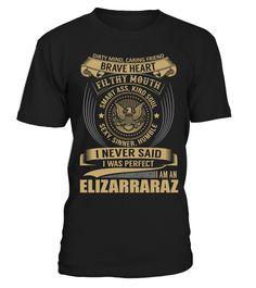 ELIZARRARAZ - I Nerver Said