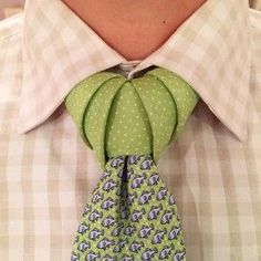 That is what a perfect Truelove necktie knot looks like if you ...