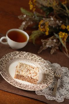 """Oatmeal Spice Cake - this wonderful dessert is sure to bring """"requests"""" from guests."""