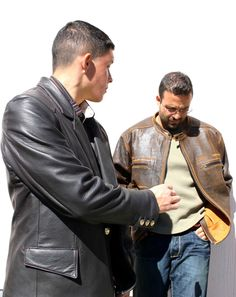 Custom leather jackets made at Leather Waves #mens fashion #custom leather jackets #mens jackets #jackie robbins
