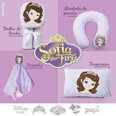 Produtos para o enxoval da sua Princesa  Conheça a nova coleção Disney - Princesa Sofia  Acesse o site  www.lojapapi.com.br e procure pelos códigos: .  Almofada de pescoço - 2655  Naninha - 2959  Travesseiro - 3861  Toalha de Banho - 1909 . Cadastre e ganhe 10% de desconto na primeira compra!!! .  #princesasofia #sofia #princesa #travesseiro #pillow #naninha #disney #disneybaby #bebe #lojapapi #mamae #maedeprincesa #mamaeebebe #papitextil #instapapi #instababy