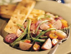 Yummy veggie nicoise salad from Veggie Times.  Use this all of the time in the summer - and winter!
