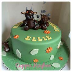 The Grufallo themed cake