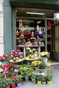 Encore! Life, | ♕ | Paris florist in Montmartre | by ©...