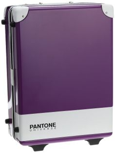 Pantone Hard-Sided Luggage To Go With The Pantone Luggage Tags. What A Trip. Pantone Number, Pantone Color, Hard Sided Luggage, Objet Deco Design, Pantone Universe, Colour Pallete, World Of Color, Color Theory, Funny Design