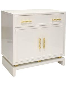 stunning white lacquer nightstand furniture. Wonderful Lacquer In Stunning White Lacquer Nightstand Furniture N