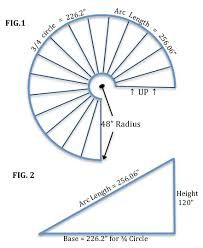Image Result For Curved Stairs Calculator